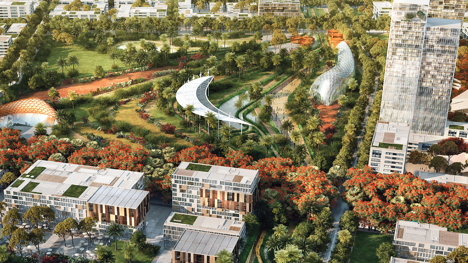 ...And Managed Green Space...